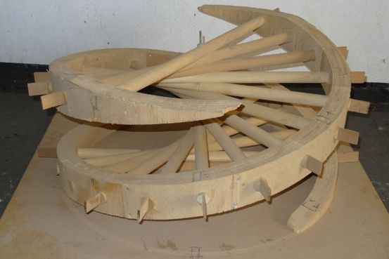 laminated wooden multi spoked coiled spring Feature Image