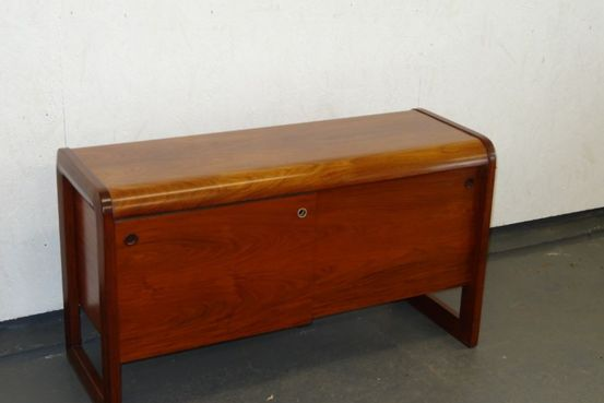 1970's Rosewood Office Cabinet Feature Image