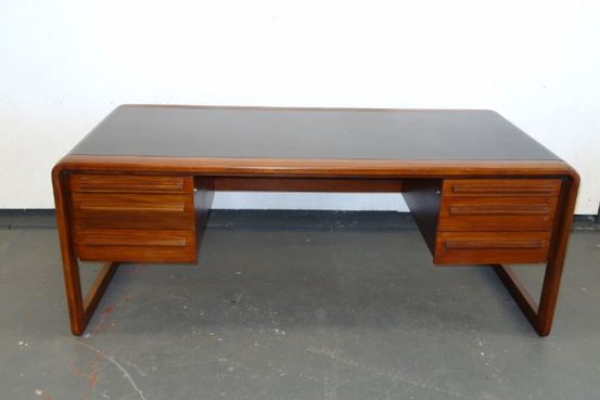1970's Rosewood Office Desk Feature Image
