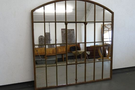Cast Iron Window Mirror Feature Image