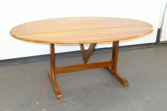 French Cherry Folding Vigneron Table Feature Image