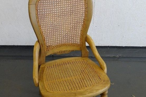 Cane Seated Nursing Chair Feature Image