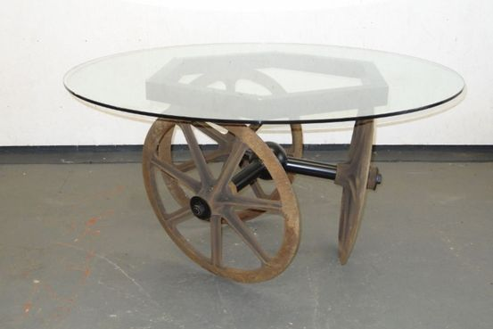 Farm Implement and Glass Dining Table Feature Image