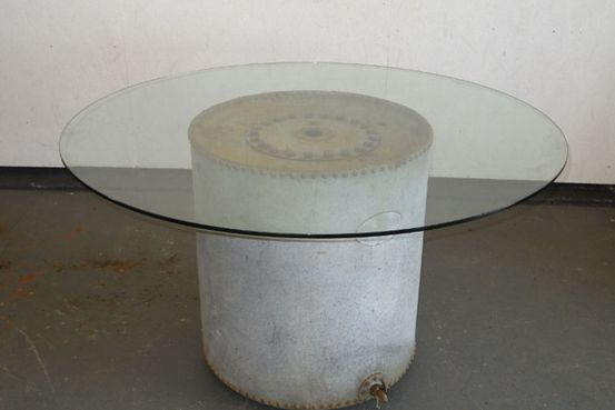 Glass Top Over Water Tank dining table Feature Image