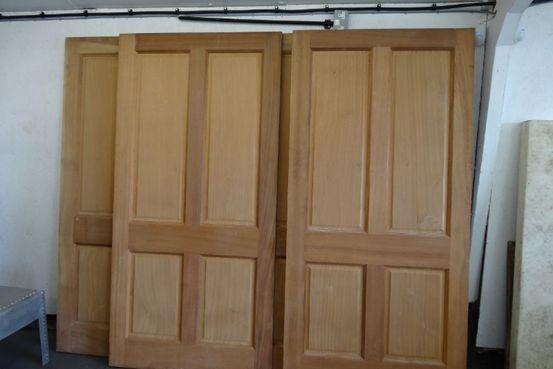 4 Panel Mahogany Doors. Feature Image