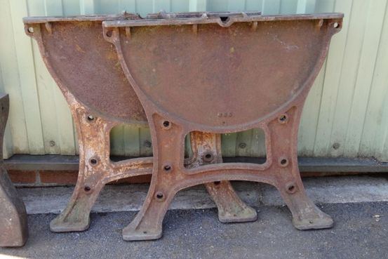 Cast Iron Table Ends Feature Image