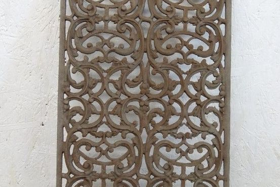 Raised and Pierced Iron Panel Feature Image
