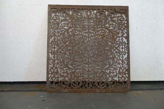 Pierced Cast Iron Floor Panel Feature Image