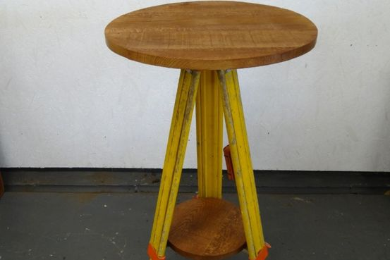 Theodolite Table/Lamp Stand. Feature Image