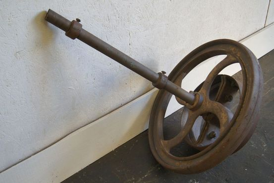 Victorian Iron Wheel Feature Image