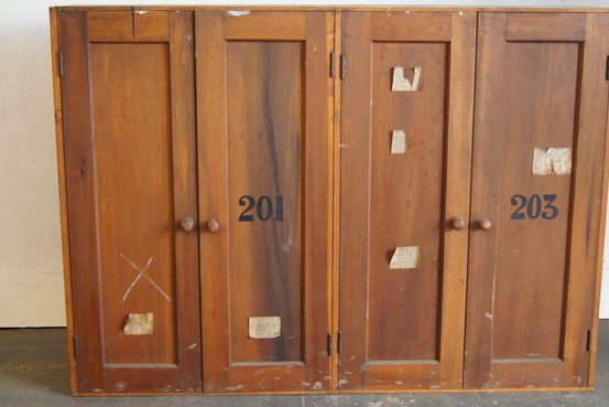 4 Door Cupboard From York Railway Carriage Works Feature Image