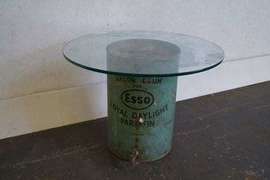 Esso Drum Coffee Table Feature Image