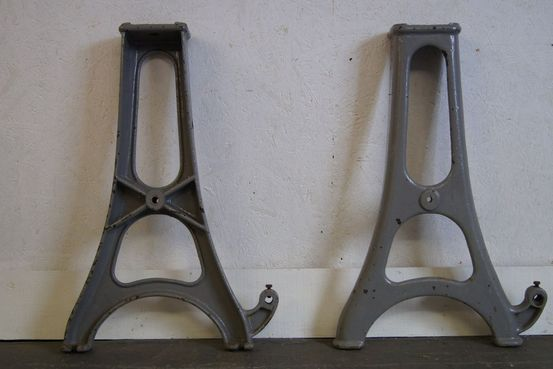 Cast Iron Lathe Legs Feature Image