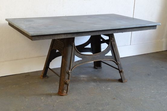 Zinc Top Table Feature Image