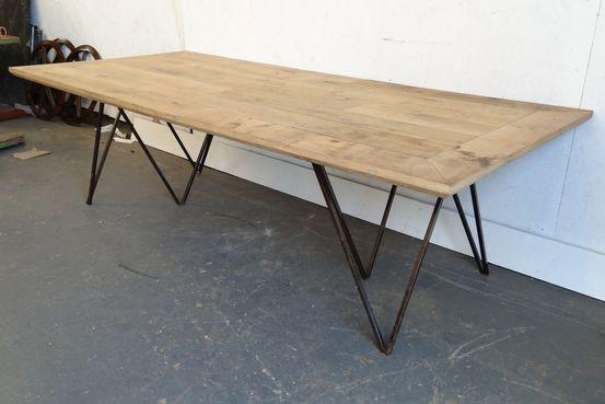 Oak Floor Board Table Feature Image