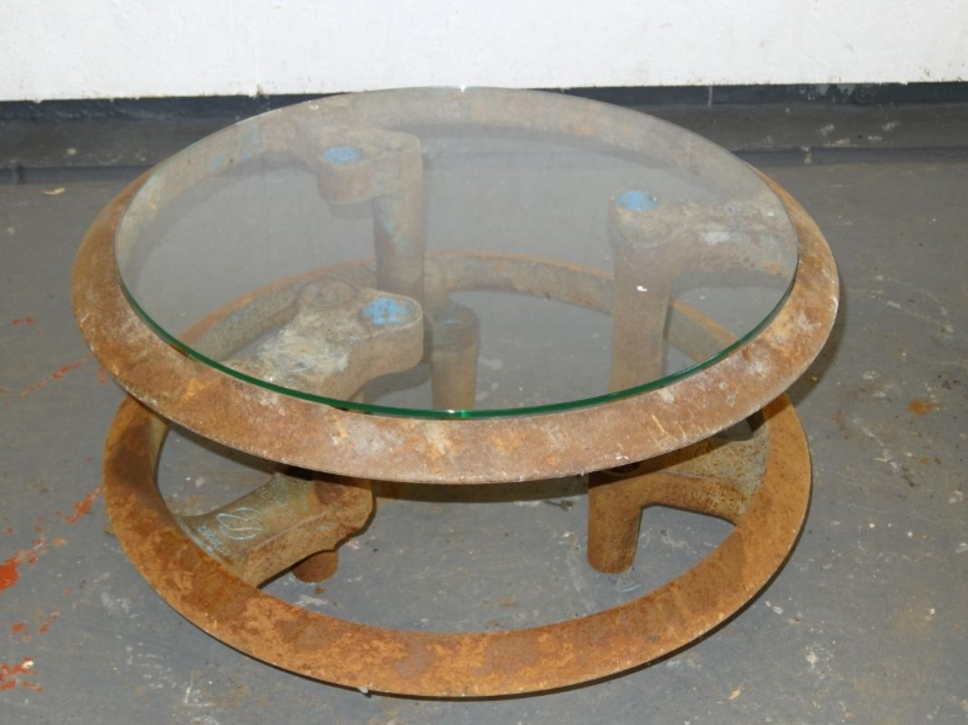 Cast Iron Coffee Table Man Of Art